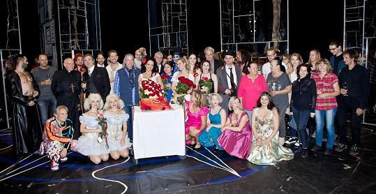 Společné foto po představení.