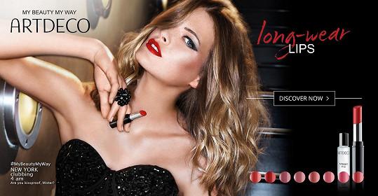 Kampaň pro kosmetickou značku