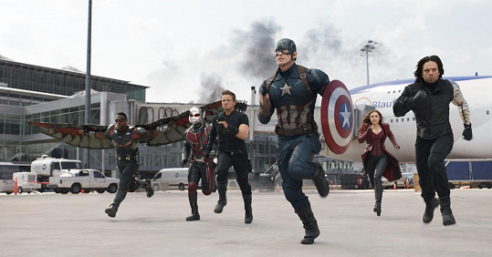 Chris jako Captain America