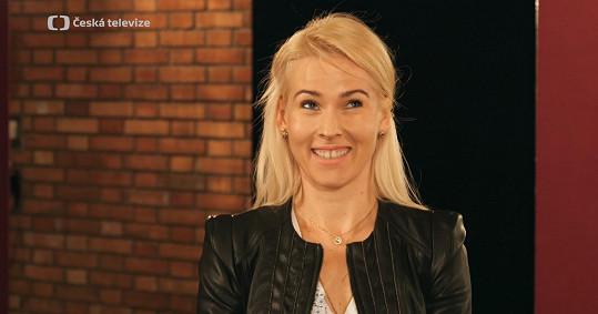 Tanečnice Alice Stodůlková byla z prvního setkání nervózní.