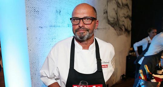 Pro hosty vařil Zdeněk Pohlreich.