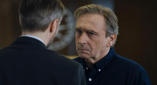 Ondřej Pavelka a Jaroslav Plesl se v seriálu porvali.