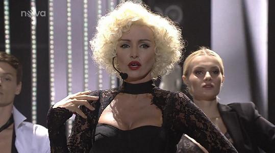 Brožová jako Madonna zazářila.