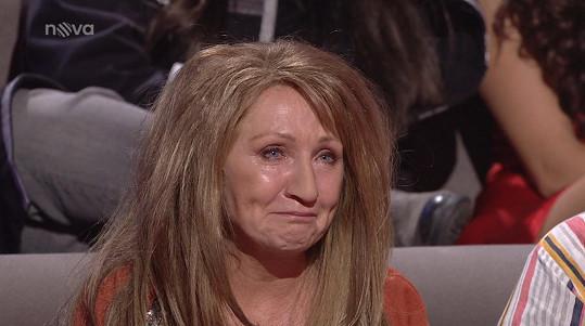 Báru Basikovou rozplakala.