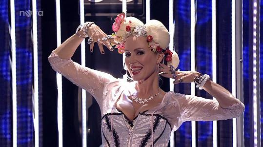 Vystoupení si Brožová užívala od samého začátku.
