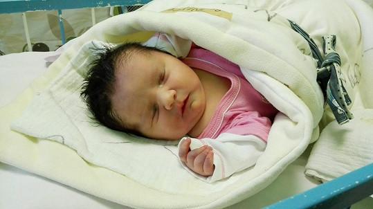 Druhé děvčátko dostalo jméno Stella.