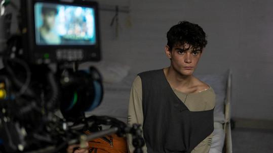 Natáčení seriálu si syn známého herce velmi užíval.
