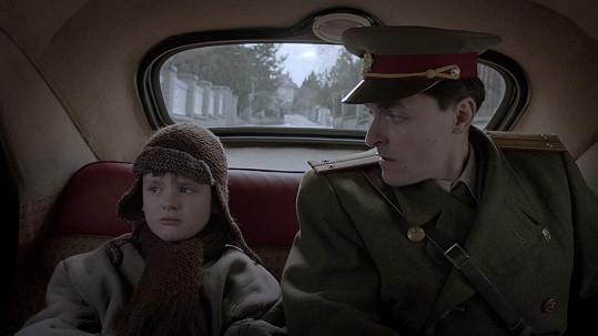 S Karlem Heřmánkem mladším musel točit vypjaté scény.