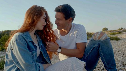 S Natálií Halouzkovou natáčel klip v Chorvatsku.