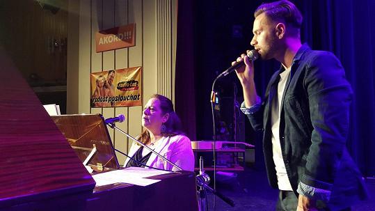 Norbert a Kathy Kelly na společném koncertě
