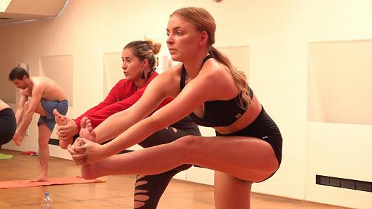 Markéta cvičí jógu už několik let.