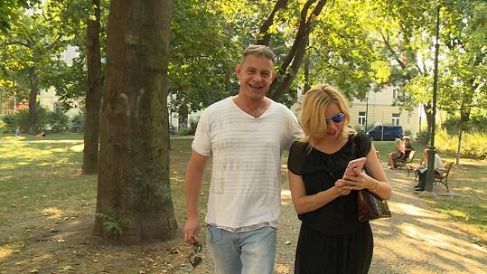 Filip o svém zdraví promluví dnes v reportáži, kterou točil s Kateřinou Kristelovou.