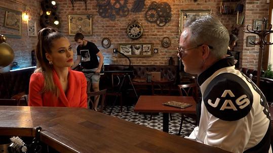 Při natáčení videoklipu s Jaro Smejkalem