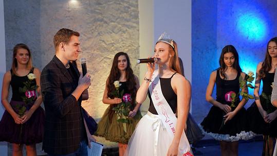 David Gránský s loňskou vítězkou Valerií Hlinovskou
