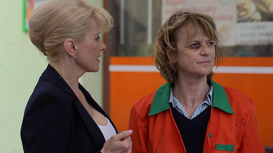 Taťjana Medvecká si zahrála týranou ženu.