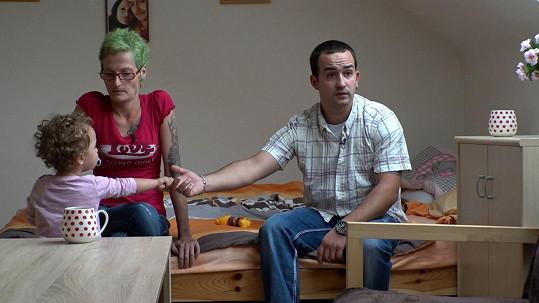 S partnerem Patrikem (28) se příhlásili do Výměny, protože jejich soužití není vůbec poklidné.