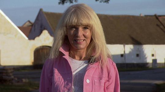Iva (51) se do Výměny přihlásila na popud manžela.