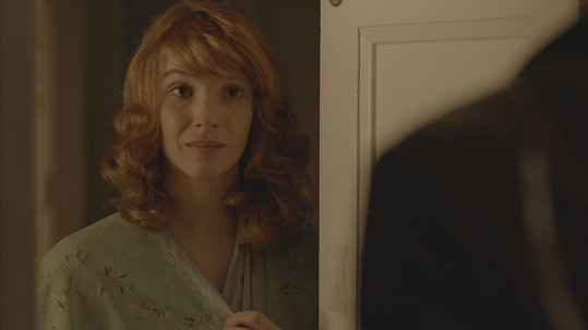 Vica Kerekes hraje ve filmu Tenkrát v ráji spisovatelku a horolezkyni Vlastu Štáflovou.