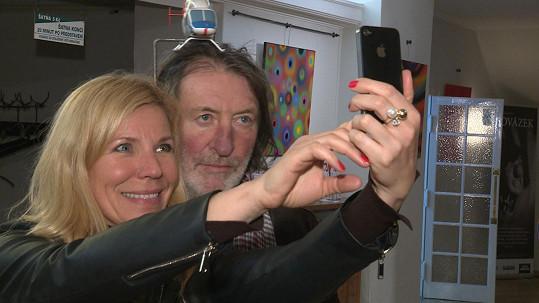 O své nemoci mluvil s reportérkou Top Staru Andreou Ježkovou.