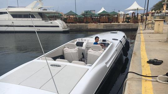 Gábina Partyšová si na Maltě udělala kapitánské zkoušky.
