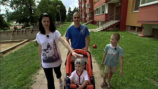 Miluška a její rodina