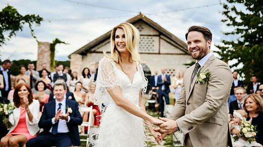 Svatební cestu novomanželé ještě nenaplánovali.