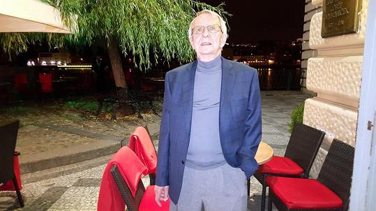Pavel Lukeš v říjnu 2015