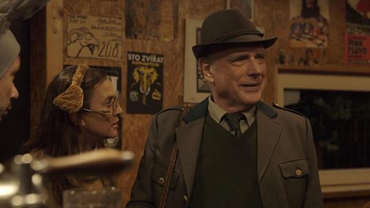 Županič má v seriálu úlet s Laní.