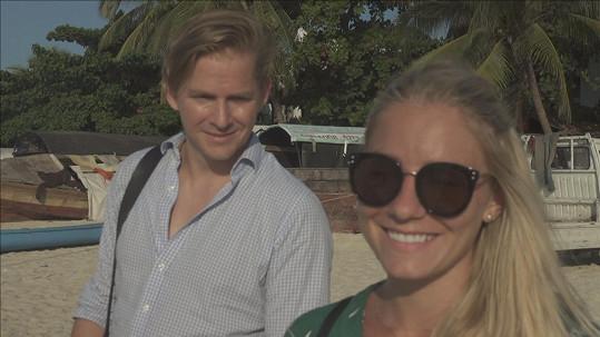 První společné týdny strávili na svatební cestě na Zanzibaru.