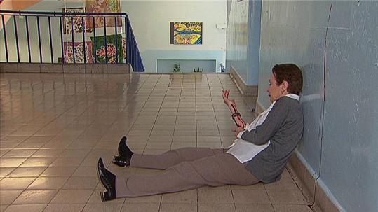 Miriam Hejlová ležela po útoku zakrvácená na podlaze.