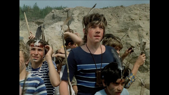 Michael Dymek ve filmu Indiáni z Větrova (1979)