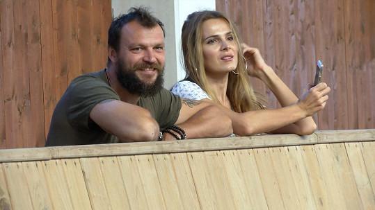 Tomáš Ujfaluši s exmanželkou Kateřinou