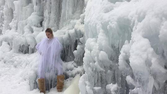 Tereza Jelínková jako ledová královna