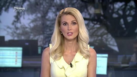 Sandra Parmová se po operaci prsou vrátila do televize.
