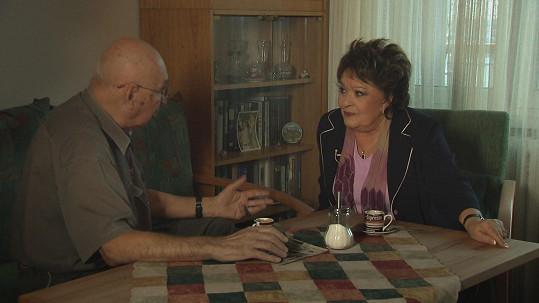 """""""Zásadní touha byla získat dokumenty o životě mého skvělého otce,"""" říká Jiřina Bohdalová."""