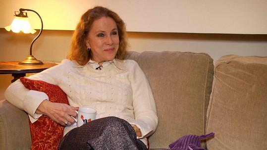 Zora Ulla Keslerová je bývalou ženou Petra Hapky.