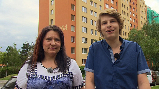 Petra s partnerem Filipem