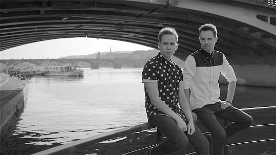 Petr Lexa (vlevo) a Lukáš Bundil z kapely Slza