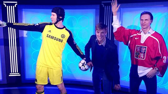Tomáš Verner se svými sportovními idoly