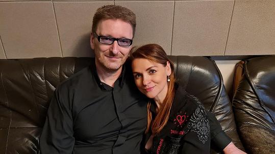 Marek Černoch a Magda Malá společně nazpívali duet.