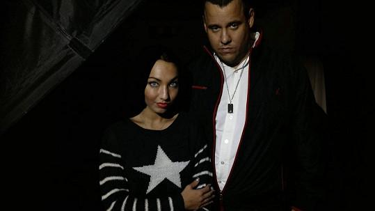 Miriam Bittóvá se svým snoubencem Vladimírem