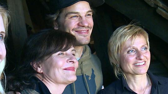 David Kraus s maminkou Janou