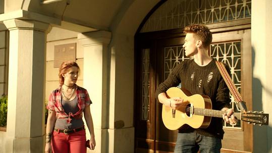 Společná scéna Michaliny a Alberta