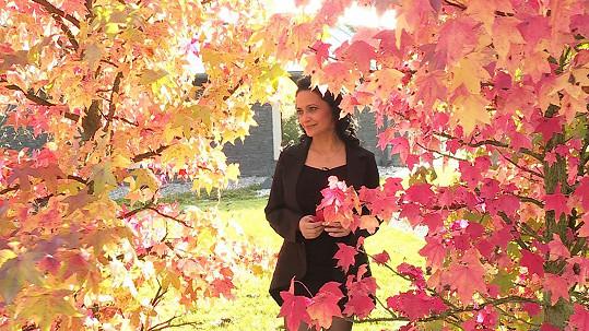 Lucie miluje podzim.