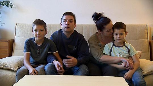 Společně vychovávají syny Olivera (12) a Michala (8).