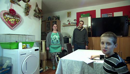 Aneta (28), Lukáš (28) a Ondřej (6) mají doma zvěřinec.