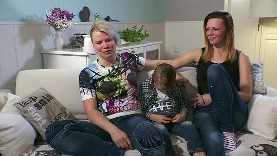 Sabina s Martinou tvoří harmonický lesbický pár.