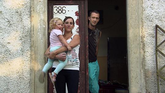 Lucie se svou rodinou