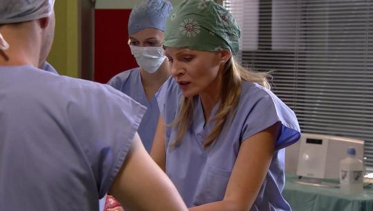 Michaela Badinková se opět objeví v seriálu z lékařského prostředí.