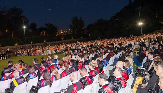 Štěpanovskou poslouchal obrovský dav.